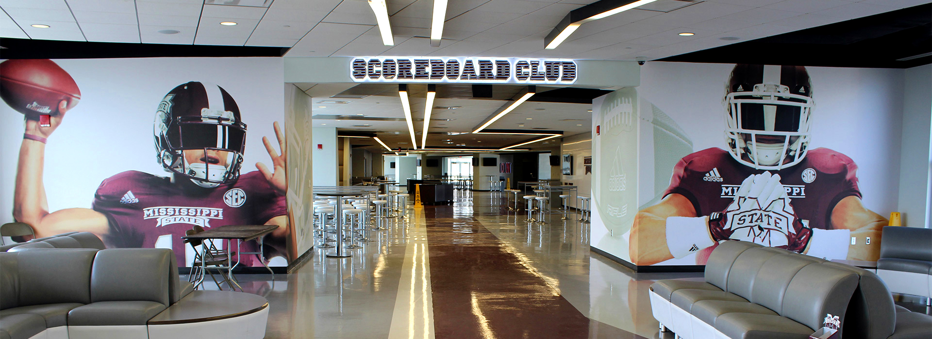 Turn key sign design sign manufacturing sign installation and sign - Mississippi State University Bulldog Club